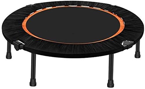 Niños plegables Trampoline Ejercicio Cebañador Mini Rebounder Trampoline, Cebolla de salto redondo plegable Trampolín para niños Adultos con seguridad acolchados para interiores al aire libre Fitness