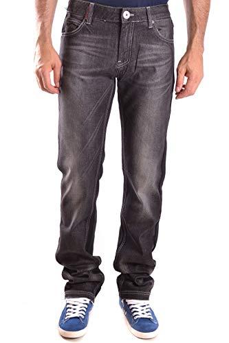 Frankie Morello Luxury Fashion Mens Jeans Spring Black