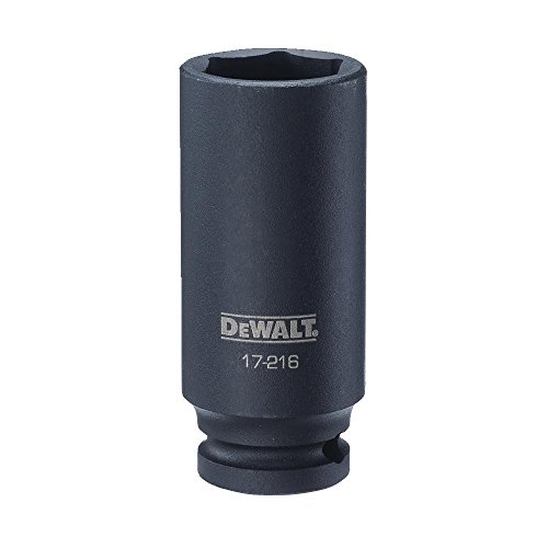 DeWalt 1/2'unidad de vaso de impacto profundo 6pt 25mm