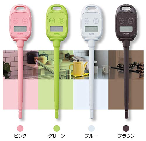 タニタ温度計料理調理50~240度グリーンTT-583GRスティック温度計