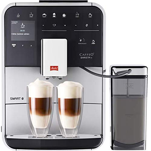 Melitta F85/0-101 Barista TS Smart Coffee Machine, 1450 W, 1.8 liters, Silver