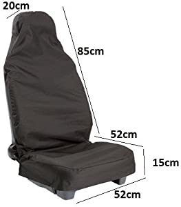 Autopower Seat Covers Protector Black