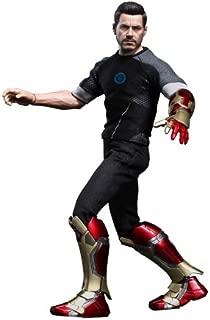 Hot Toys Iron Man 3 Movie Masterpiece Tony Stark Collectible Figure