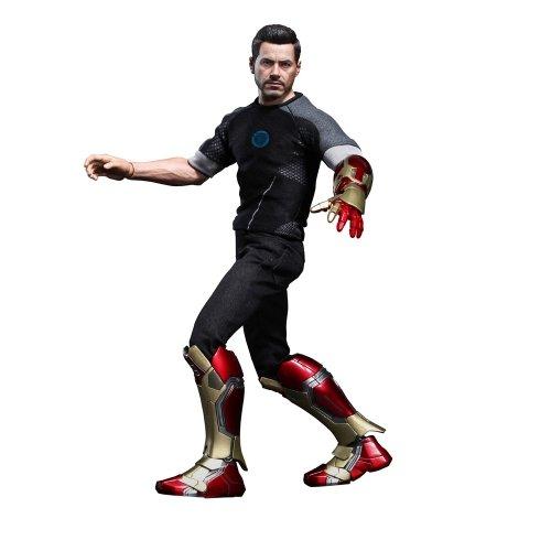 """Hot Toys 1:6 """"Iron Man 3"""" Figura Tony Stark [Giappone Import]"""