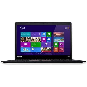 "Lenovo ThinkPad X1 Carbon 20BS0032US Laptop (Windows 8, Intel i5-5300U, 14"" LED-lit Screen, Storage: 256 GB, RAM: 8 GB) Black"