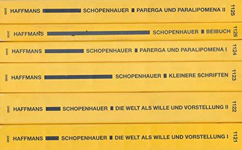Arthur Schopenhauers Werke in fünf Bänden: nach den Ausgaben letzter Hand herausgegeben von Ludger Lütkehaus.