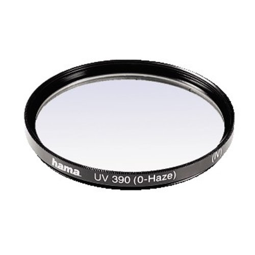 Hama 00070146 UV and Protective Filter, 4 Coats, for 46 mm Camera Lenses - Black