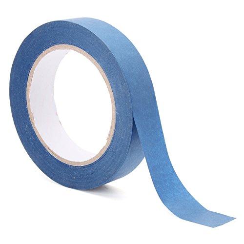 EsportsMJJ 50m blauwe verf tape schilder maskeren lijm voor auto huis schilderij 24/48mm, 24mm, 1
