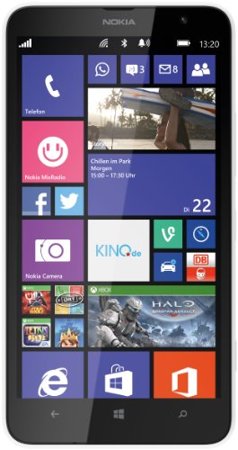 Nokia Lumia 1320 Smartphone (6 Zoll (15,2 cm) Touch-Bildschirm, 8 GB Speicher, Windows 8) weiß