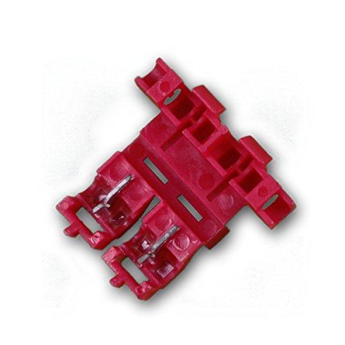 world-trading-net - 10er Set Sicherungshalter ROT für Kfz-Sicherungen 0,5-1,0mm²