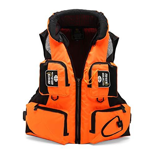 RUIXFAP Respirable Kayak Dinghy Sailing Booyancy Aid para Deportes acuáticos Chaleco de flotación Chaleco Auxiliar, Chaleco Salvavidas Canoa Duradero
