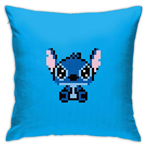 Stit-ch Jumba's 625 4 brazos de la televisión merch amigo de dibujos animados manta almohada cojín dormitorio sofá conjunto de la colección con cremalleras 45 x 45 pulgadas