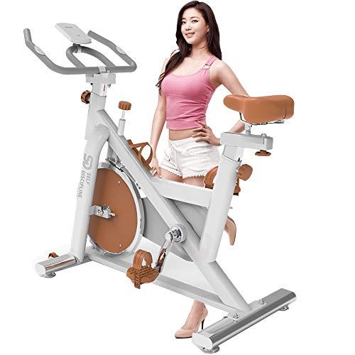 FGHUF Bicicleta Fitness Bicicleta De Spinning Volante De Ine