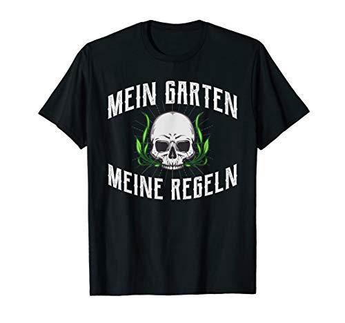 Mein Garten meine Regeln Gärtner T-Shirt