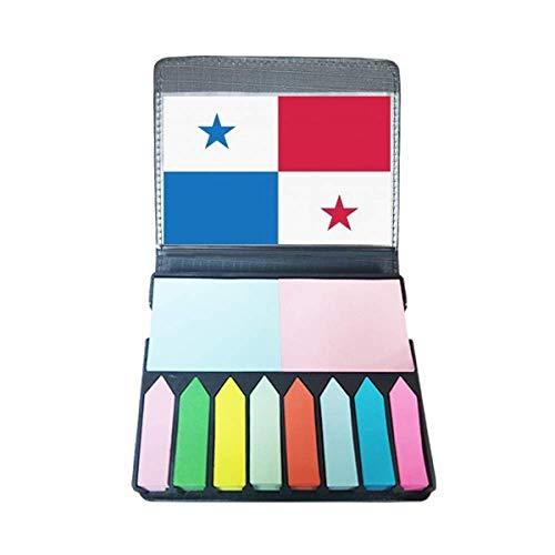 Panama Nationale Vlag Noord-Amerika Land Zelf Stick Note Kleur Pagina Marker Doos