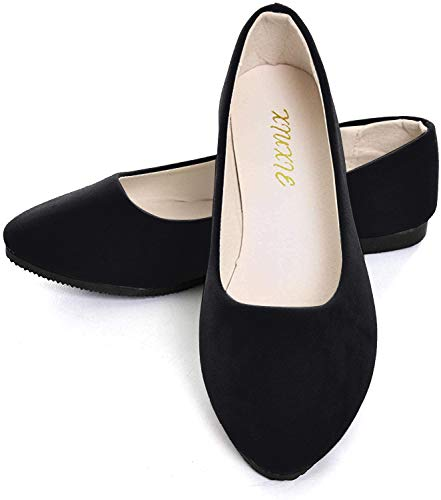 Top 10 best selling list for black flat shoes womens sale