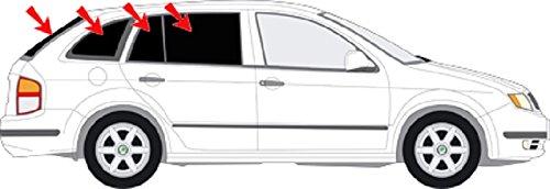 Preisvergleich Produktbild Solarplexius Sonnenschutz Autosonnenschutz Scheibentönung Sonnenschutzfolie Skoda Fabia I Typ 6Y Kombi Bj. 00-07