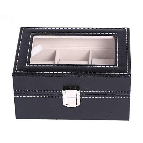 LKAIBIN Caja de Reloj 3 de la PU de Cuero de Gama Alta Reloj de Almacenamiento Display Box