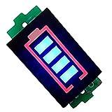 Semoic 3S Serie Módulo Indicador De Capacidad De Batería De Litio Azul Monitor 12.6V Probador De Energía De Batería Li-Po Li-Ion