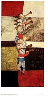 Fanfare by Graciela Rodo Boulanger. Fine Art Print Poster (20.75 x 36)