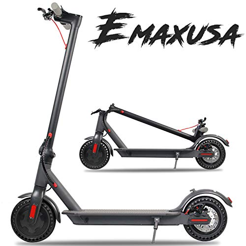 Emaxusa Electric Scooter for Adults,UL Certified,8.5' Solid Tires 350W Motor Speed 15 MPH,Up to 16...