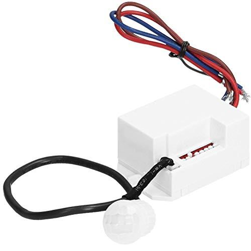 ORNO OR-CR-211 Mini Bewegungsmelder mit Dämmerungssensor und Timer 360 Grad LED Kompatibel