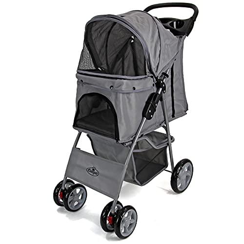 Easipet Pet Stroller (Grey)