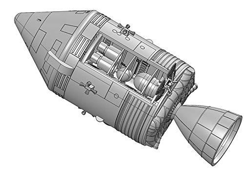 ドラゴン 1/72 アポロ13号 宇宙船CSM(司令船/機械船)&月着陸船 ヒューストン問題発生 プラモデル DR11020
