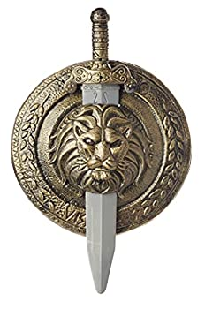 California Costumes Gladiator Combat Shield and Sword Standard