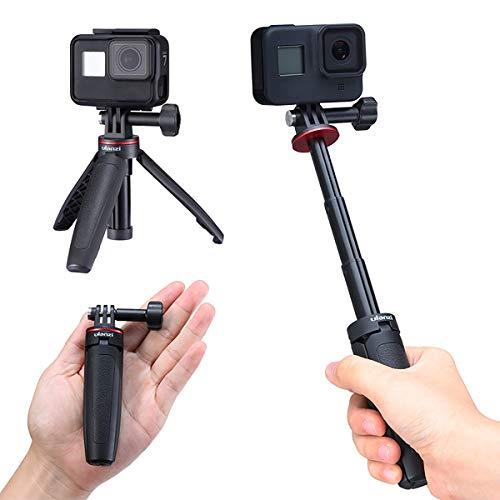 ULANZI MT-09 GoPro Vlog Stativ, Handgriff und Selfie-Stick für Foto & Video