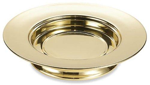 Sudbury Brass Stacking Bread Plate Communion Tray, 10 1/4 Inch