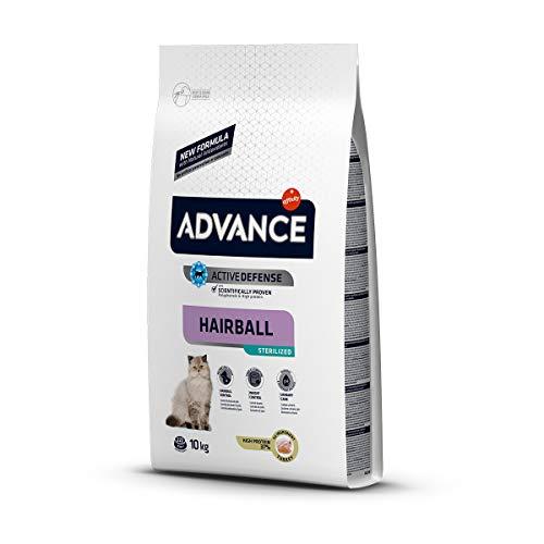 Advance - Alimento para gato esterilizados hairball 10 kg. ⭐
