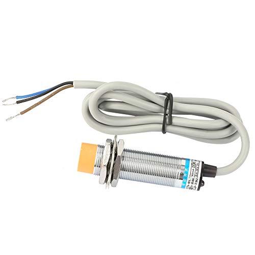 Interruptor de proximidad, interruptor NPN Impermeable Latón niquelado resistente a la corrosión para máquinas herramienta