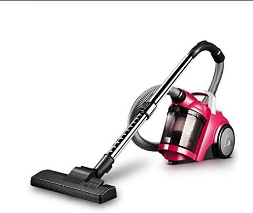 LTLJX Ultra silencioso Mini Inicio Vara Aspirador portátil colector de Polvo del hogar del Aspirador de Mano Aspirador Rojo (Color: Rojo) LUDEQUAN (Color : Pink)