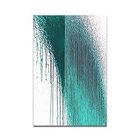 キャンバスプリントウォールアート画像北欧ミニマリストスタイル抽象線装飾絵画ホームリビングルーム寝室キャンバス絵画-A_50X70Cm_No_Frame