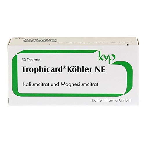 TROPHICARD Köhler NE Tabletten 50 St