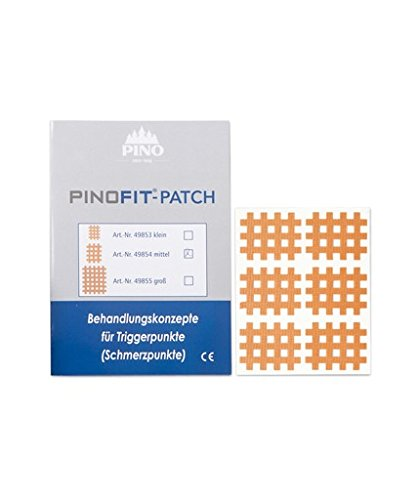 PINOFIT® PATCH 49854 Gittertape MITTEL 20 Bögen á 6 Patches