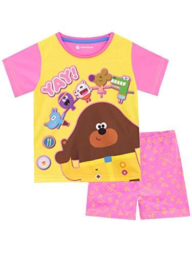 Hey Duggee Pijamas de Manga Corta para niñas Club de Las Ardillas Multicolor 18-24 Meses