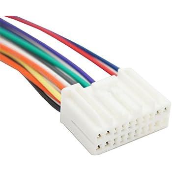 Amazon.com: Compatible with Honda Prelude 1999-2001 Factory Radio OEM  Original Stereo Wire Harness Plug: Car ElectronicsAmazon.com