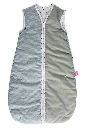 2in1 Babyschlafsack 0-18 Monate gefüttert von Motherhood - kuscheliger Babyschlafsack Öko Tex Standard, Klasse 1, Schiffe blau