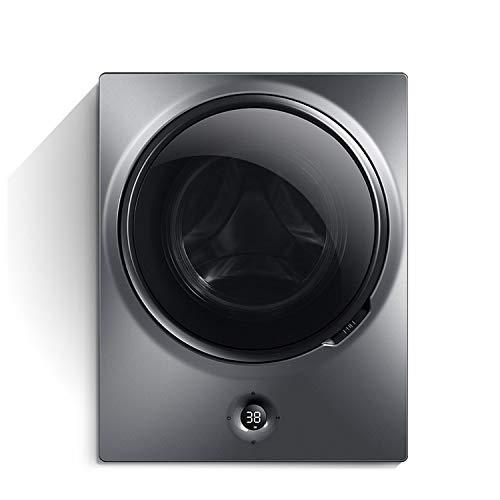 LFANH Waschmaschine Wandmontage, 3kg Mini kleine automatische Trommel-Haushalts-Waschschleuder integriert 48 × 30 × 60cm Vollautomatische Waschmaschine und Spin-Trockner, für Badezimmer, Küche