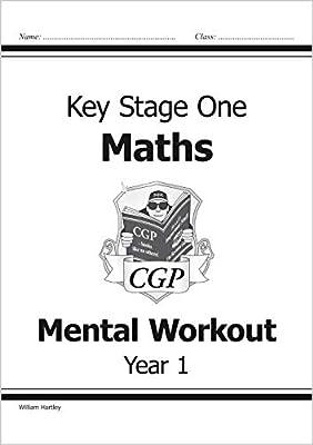 KS1 Mental Maths Workout - Year 1 (CGP KS1 Maths) from Coordination Group Publications Ltd (CGP)