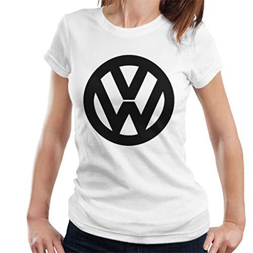 Volkswagen Classic Black VW Logo Women's T-Shirt