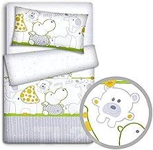 7.5 tog Bedquest/® 2-in-1 Set Anti Allergy Toddler Nursery Baby Cot Quilt Duvet Pillow 100/% Filling
