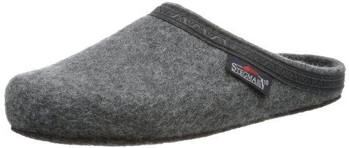 Stegmann Unisex-Erwachsene 126 Pantoffeln, Grau (Grey 8804), 36