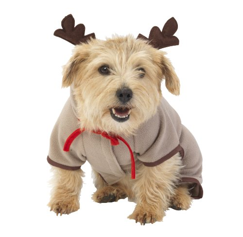 House of Paws Just for Fun Costume de Renne pour Chien 25,4 cm