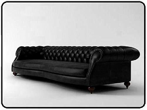 JVmoebel Chesterfield Garnitur Polster Sofas Ledersofa Big Couch Sofa XXL 2,50 cm NEU