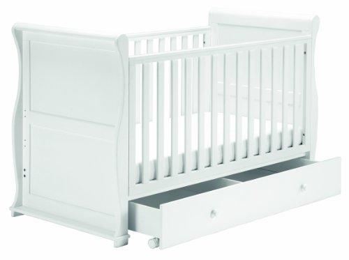 East Coast Nursery Alaska traîneau Lit de bébé (Blanc)