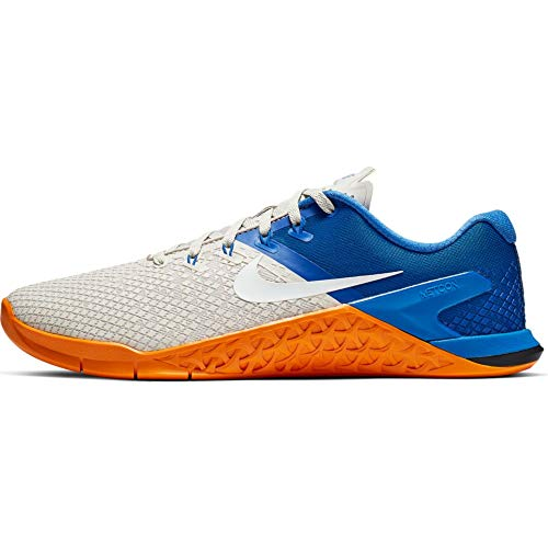 Nike Metcon 4 XD Men's Training Shoe Light Bone/White-Game Royal-Orange Peel 9.0