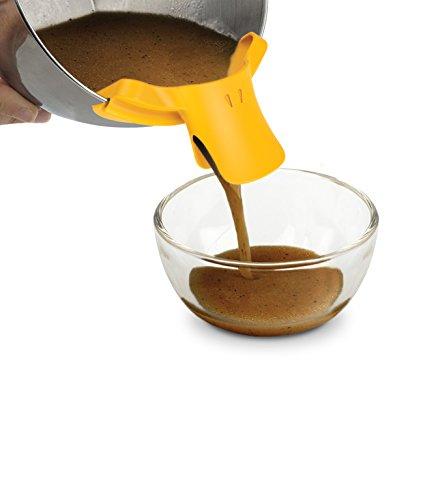 Ducky Topfausgießer aus Silikon | Ausgieß-Hilfe für Töpfe von 16 bis 32 cm